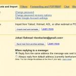 Bagaimana membalas emel dengan menggunakan emel lain dalam Gmail?