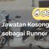 Jawatan Kosong sebagai Runner di Dego