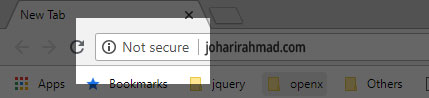 not-secure-joharirahmad